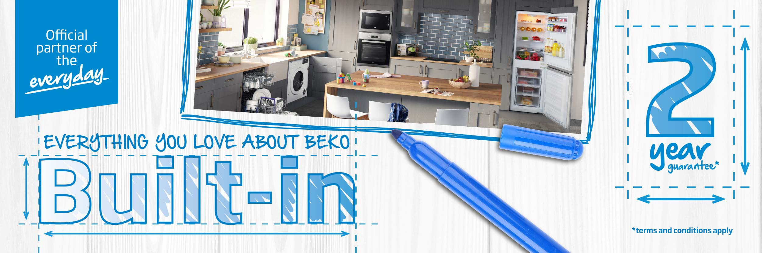 Everything you love about Beko Built-In