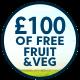 HarvestFresh - Veg Pledge £100