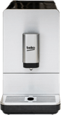 A silver Beko bean to cup coffee machine