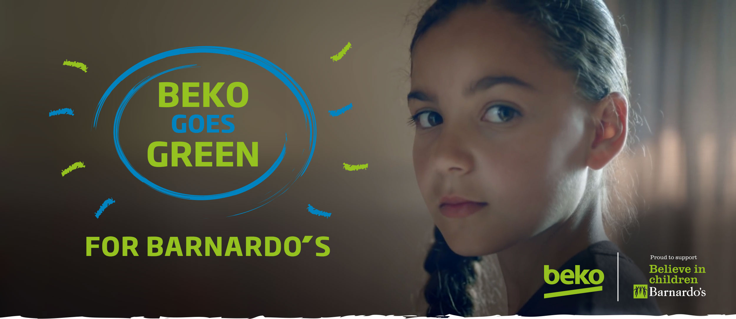 Beko Goes Green For Barnardos