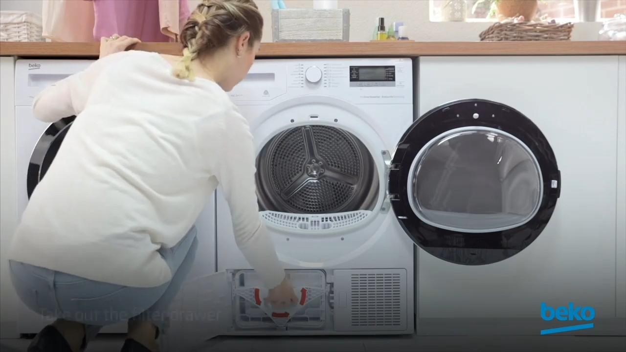 How to clean the different parts of your Beko Tumble Dryer