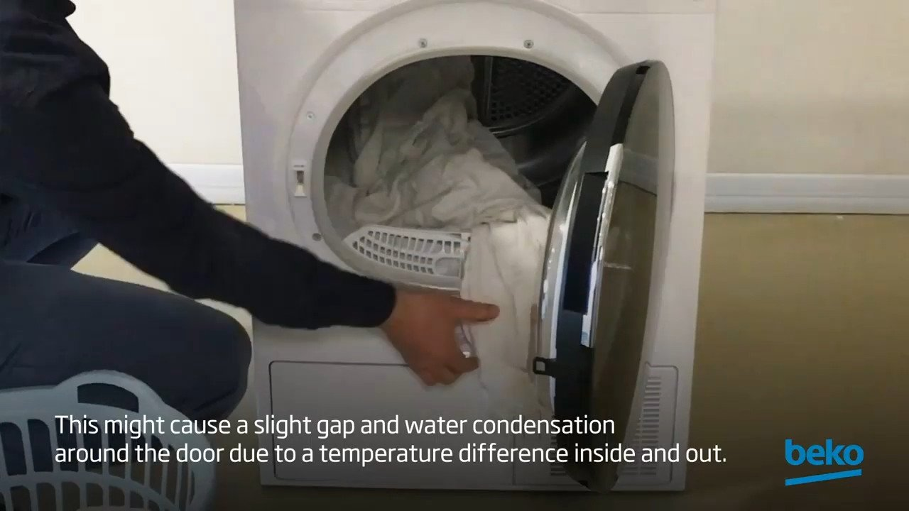 How to solve water leakage from the door of your tumble dryer