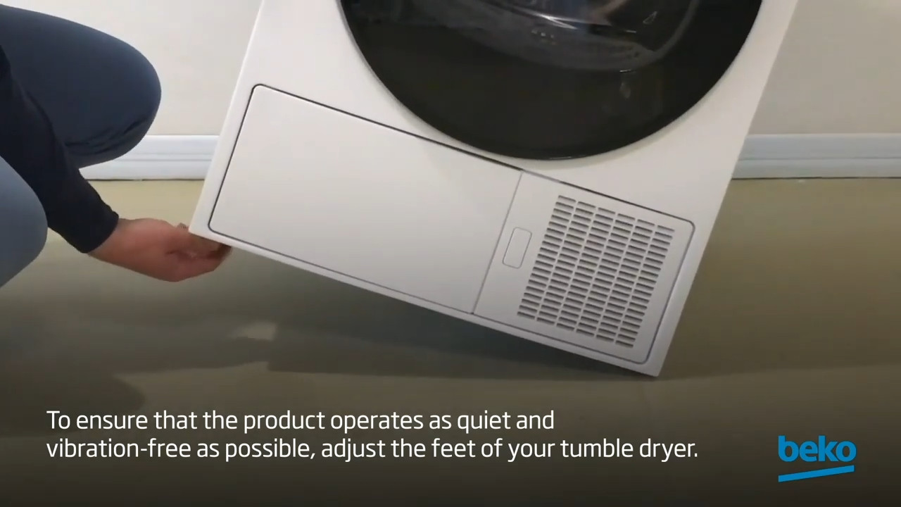 How to stop your tumble dryer making too much noise