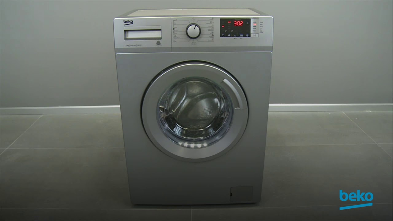 How to cancel the program on your washing machine
