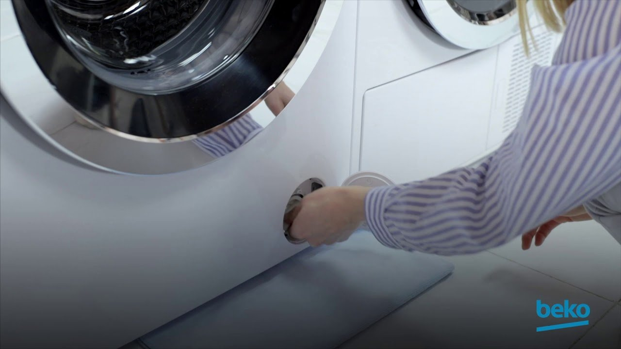 How to clean the pump filter on your washing machine