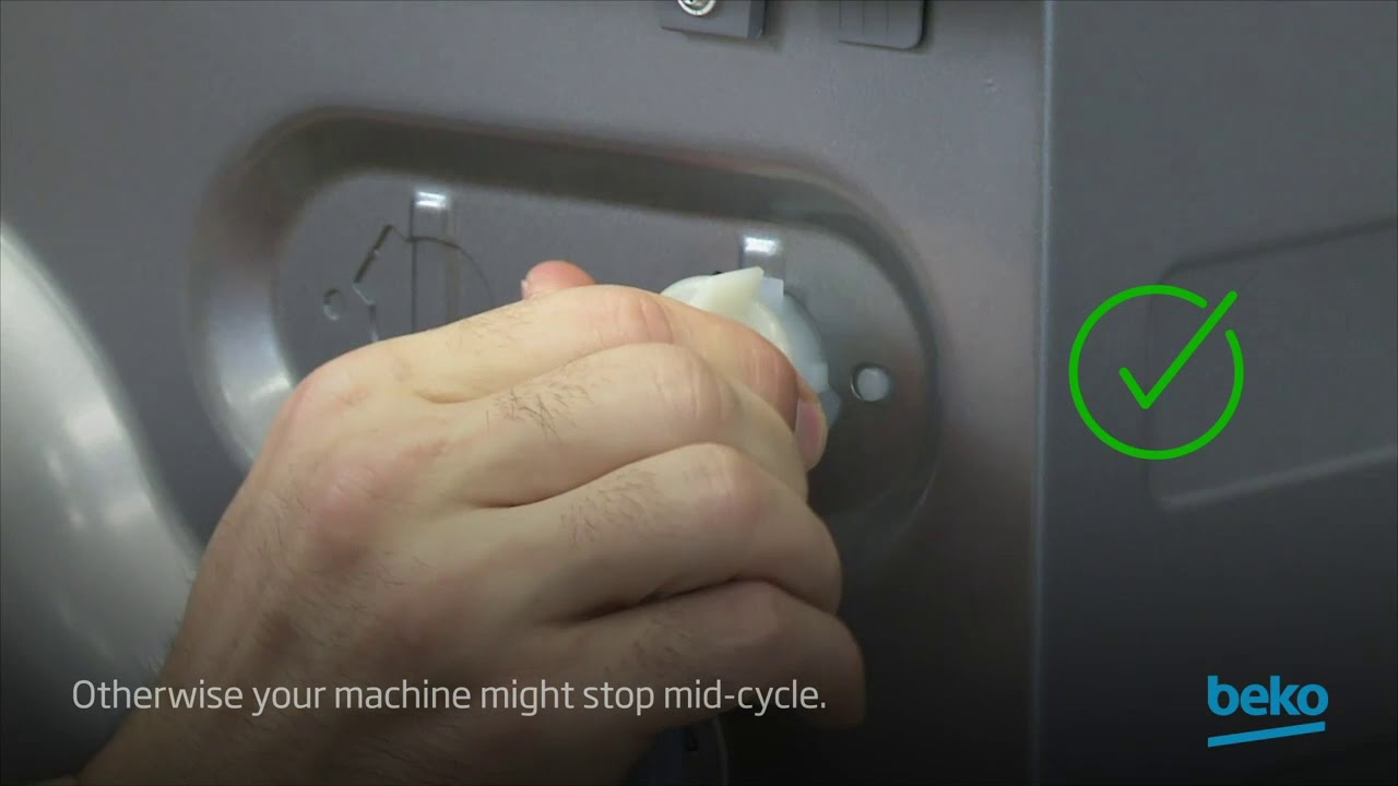 How to fix your washing machine if it stops mid-cycle