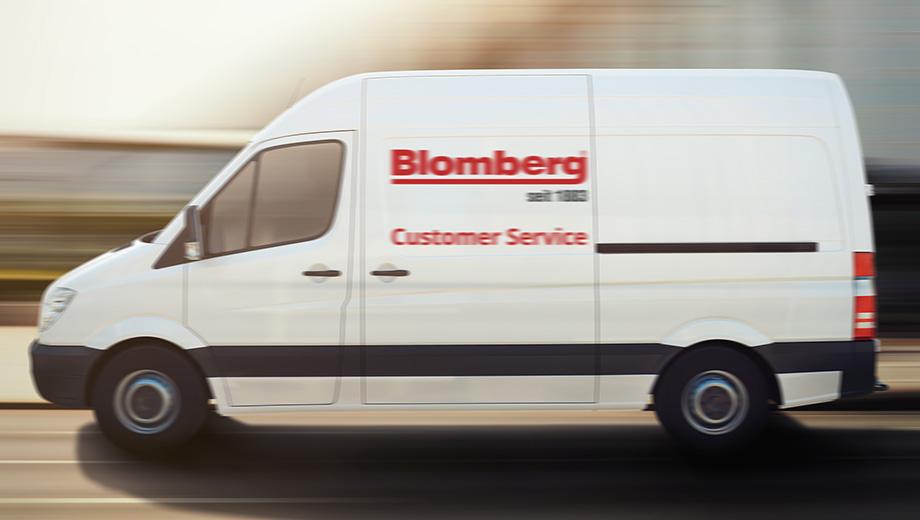 Blomberg repair van