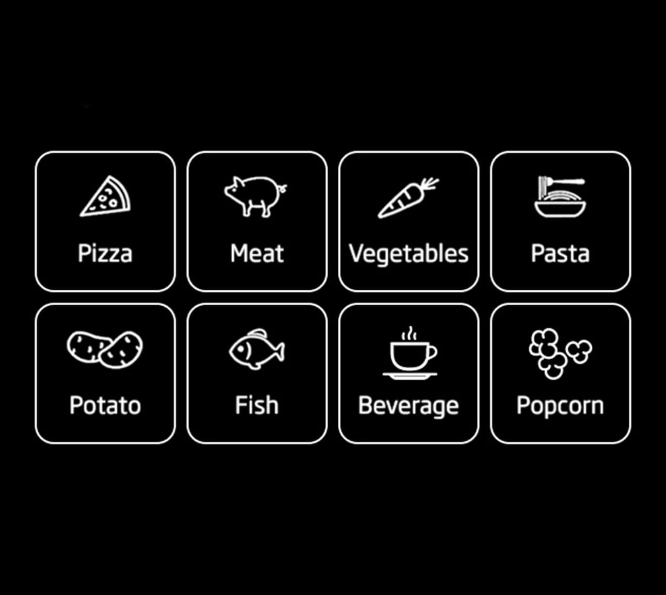 Auto-cook Menu