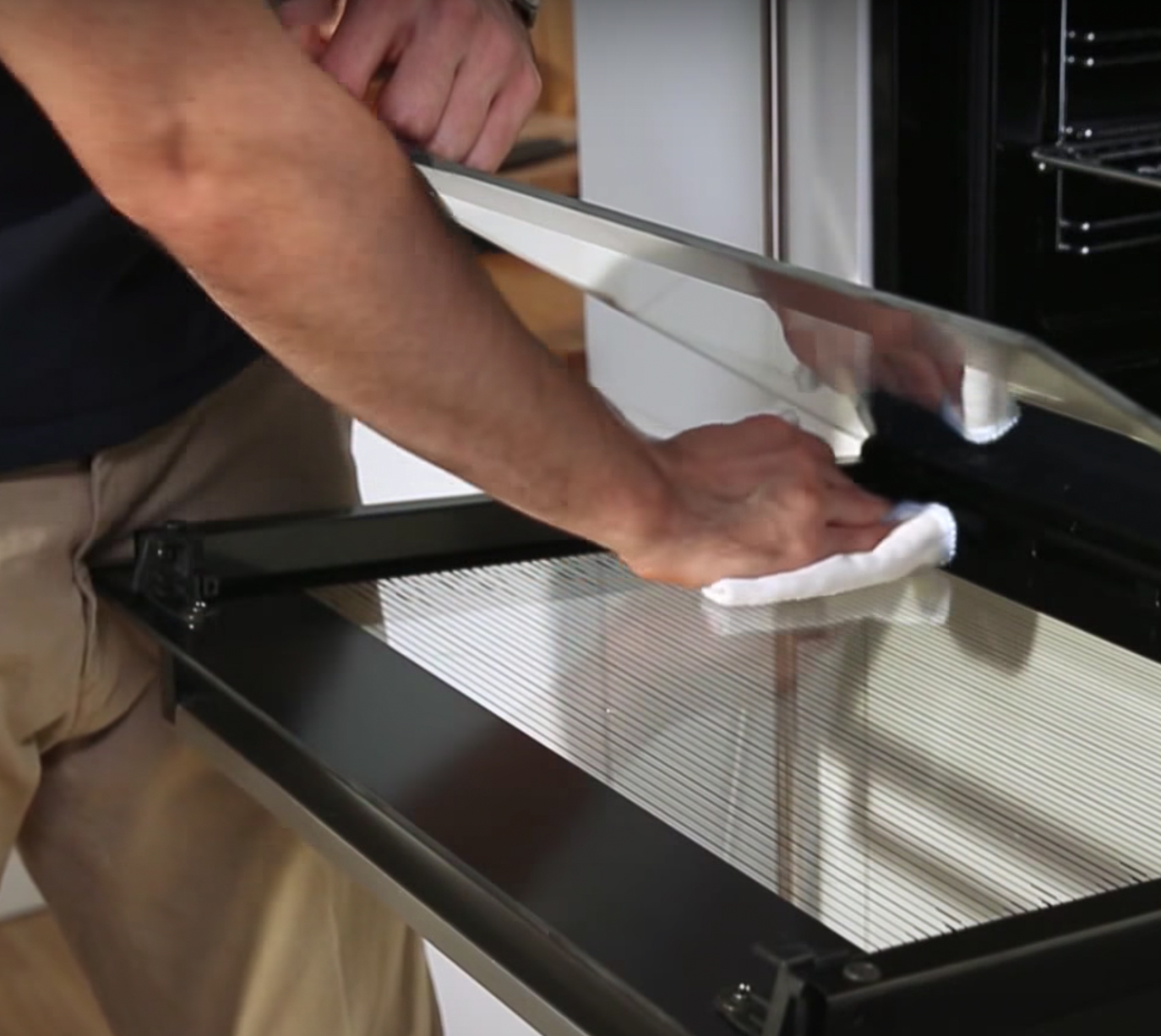 Removable Oven Door Glass