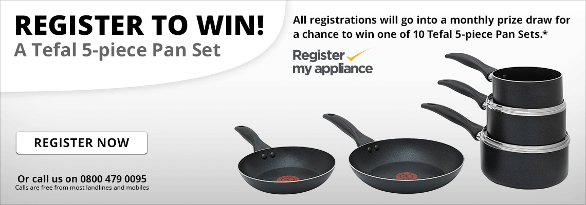Register Your Appliance