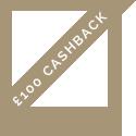£100 Cashback*