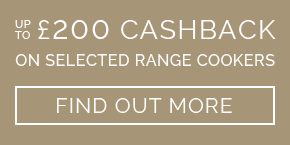 Up to £250 cashback on slected appliances - find out more