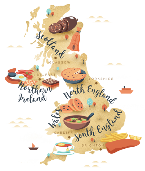 Uk Foodie Map