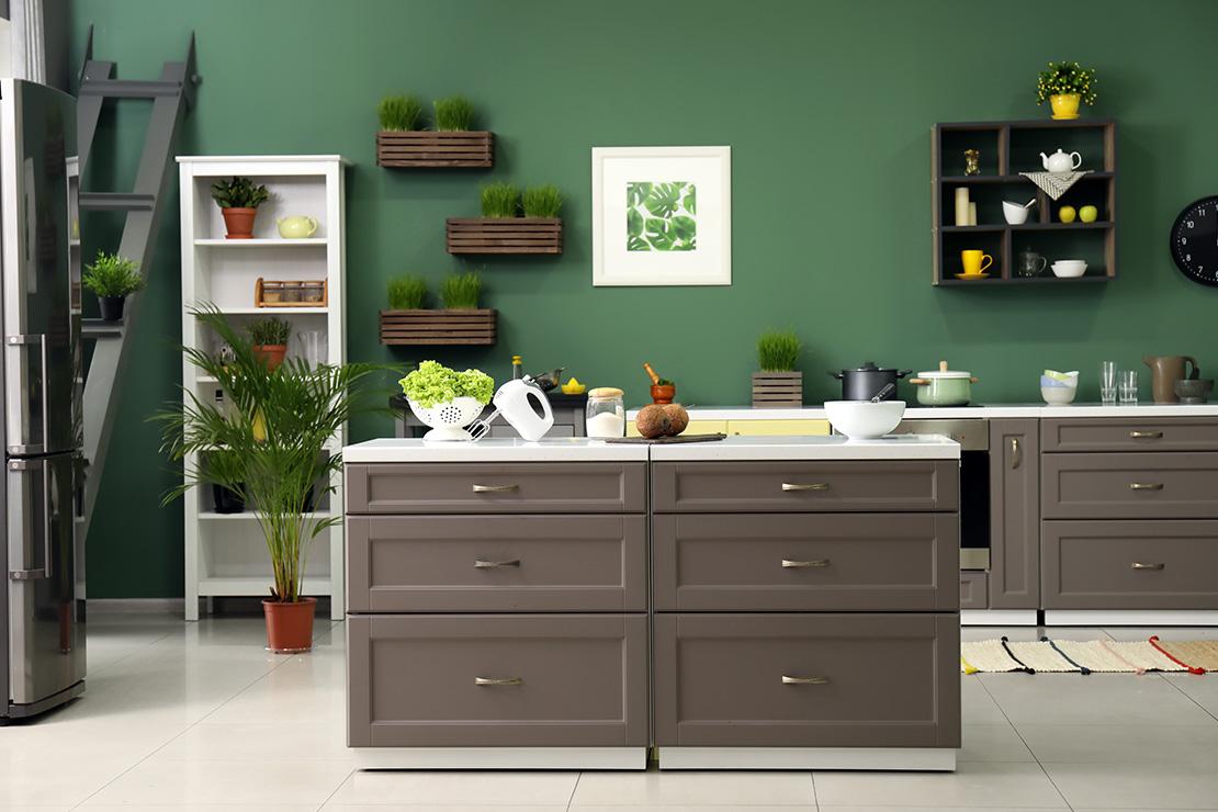Earthy Hues Kitchen