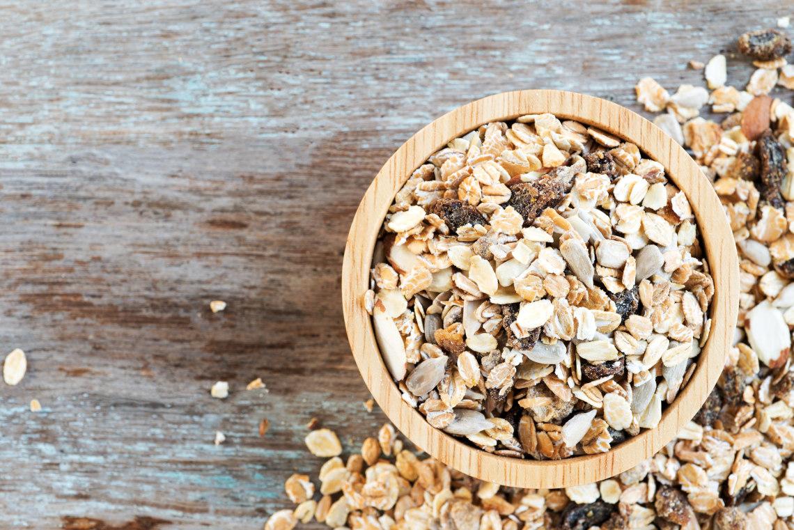 Build cereal sandcastles