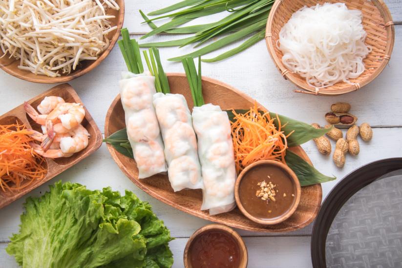 Asian Summer Rolls