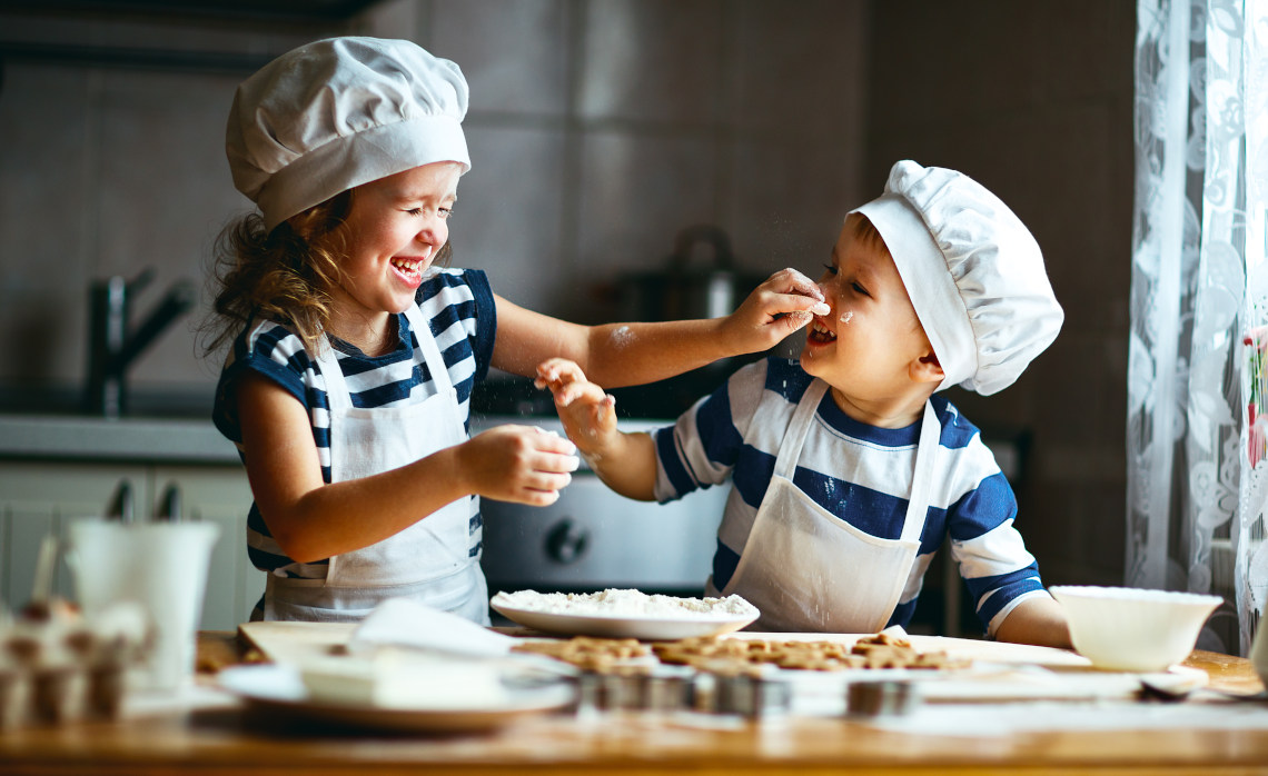 3 tips for cooking with kids