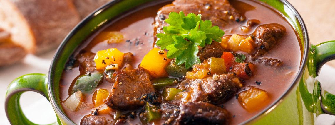 Hearty beef & vegetable casserole