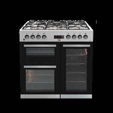90cm double oven range cooker KDVF90