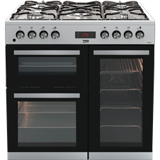 Double Oven 90cm Gas Range Cooker KDVF90