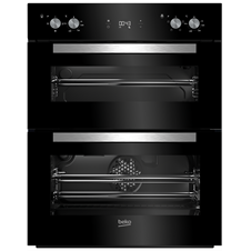 72cm Built-Under Double Fan Oven LED Timer BTQF24300