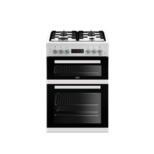 60cm double oven dual fuel cooker KDDF653