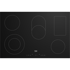 Built-in 80cm Black Ceramic Hob HIC85402T