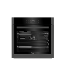 60cm Single Multi-function Oven with Pyrolytic Self Cleaning BQM29500DXP