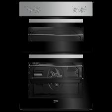 90cm Double Fan Oven Easy Grip Knobs BXDF21000