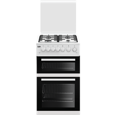 50cm Double Oven Gas Cooker EDG504