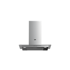 60cm Stainless Steel and Glass Chimney Hood
