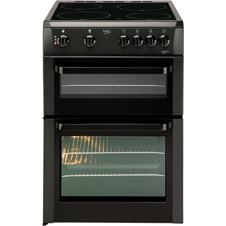 60cm double oven electric cooker BDVC663