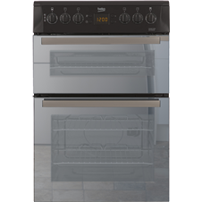 60cm Double Oven Electric Cooker BDVC665MK