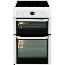 60cm double oven electric cooker BDVC668
