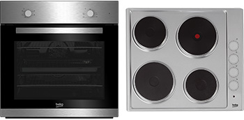 Built-In Fan Oven & Sealed Plate Hob Package BSF211S