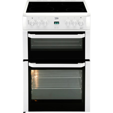 60cm Double Oven Electric Cooker BDVC664