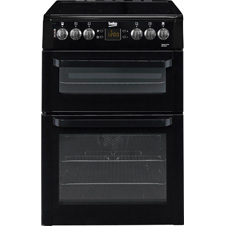 60cm Double Oven Electric Cooker BDVC667