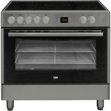 90cm Stainless Steel Single Oven Range Cooker BHSC90