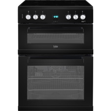 60cm Double Oven Electric Cooker EDC633
