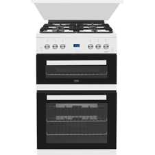 60cm Double Oven Gas Cooker EDG6L33