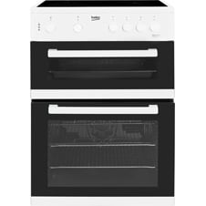 60cm double oven electric cooker KDC611