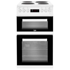 50cm double oven electric cooker KDV555A