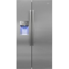 American Style Fridge Freezer Non-Plumbed Water Ice ASN541