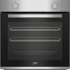 60cm Single Conventional Oven 74L capacity Easy Clean Double Glazed Oven Door