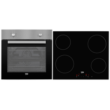 Multifunction Built-in Oven & Ceramic Hob Pack QSE222X