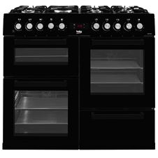 Double Oven 100cm Gas Range Cooker KDVF100