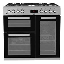 Double Oven 90cm Gas Range Cooker KDVF90
