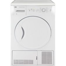 Condenser Tumble Dryer White 8kg DCSC821