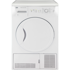 Condenser Tumble Dryer White 8kg DCU8230