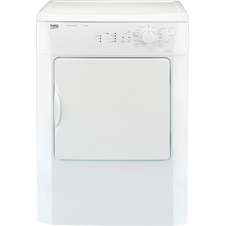 White 7kg Vented Tumble Dryer DRVS73